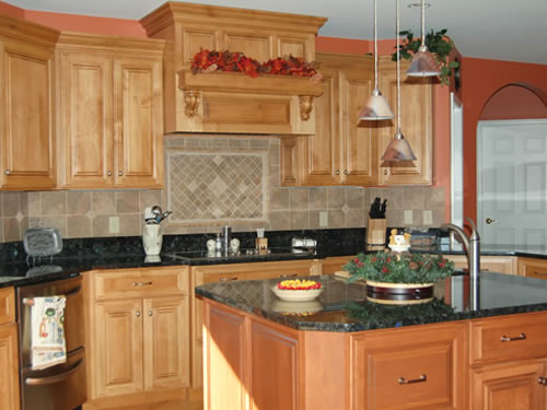 Custom Kitchen Built Cabinets by Olde Mill Cabinetry